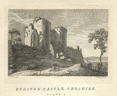 Beeston Castle, Cheshire, Benjamin Pouncy, 1773