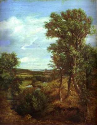 Dedham Vale, John Constable, 1802