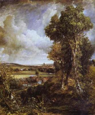 Dedham Vale, John Constable, 1828