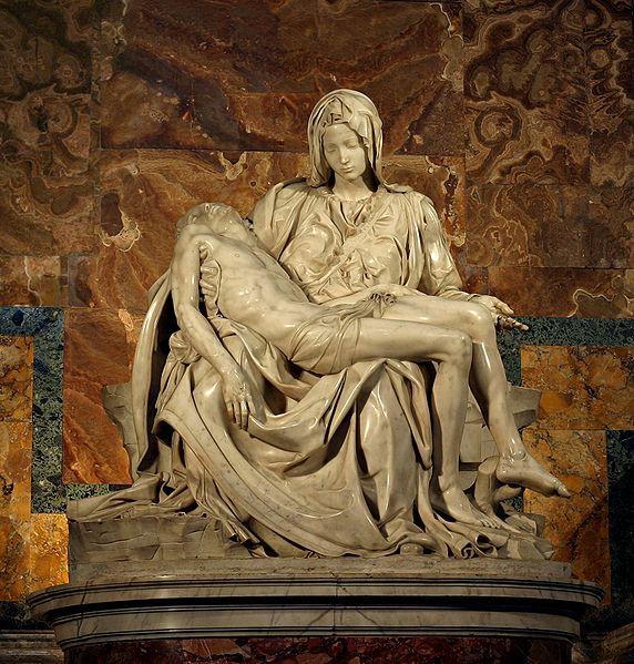 Michelangelo's Pieta, St Peter's Basilica