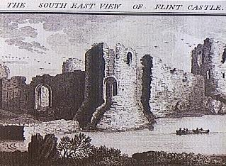 Flint Castel, Samuel & Nathaniel Buck, 1742