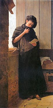 'Saudade', Almeida Junior, 1899