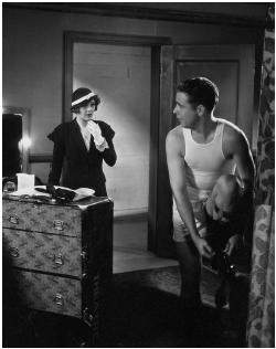 Dick Powell with Ruby Keller in '42nd Street', 1933